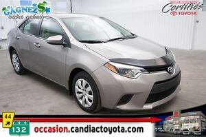 2014 Toyota Corolla LE * AUTO * AC * SEULEMENT 45941 KM *