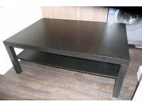 LACK black Ikea COFFEE TABLE