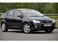 2006 Ford Focus 1.8 TDCi Ghia 5 DOORS+HATCHBACK+DIESEL+JUST SERVICED+11 MONTHS MOT