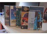 Federico Fellini VHS collection