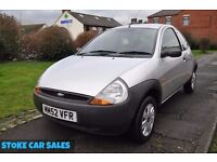 FORD KA 1.3 3DR PETROL (PART SERVICE HISTORY, 2 KEYS)