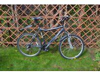 "Mens Raleigh Hercules Nitro Mountain bike. Virtually brand new. 18 speed. 21"" (53cm) frame."