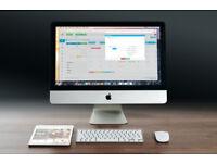"Apple iMac 24"", A1225, Intel Core2Duo, 2.4GHz, Mountain Lion 10.8, 4GB RAM, 500GB HDD"