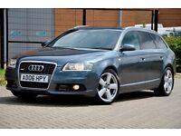 2006 Audi A6 Avant 2.7 TDI S Line 5dr+ESTATE+FULL AUDI SERVICE HISTORY+SAT NAV+S LINE+12 MONTHS MOT