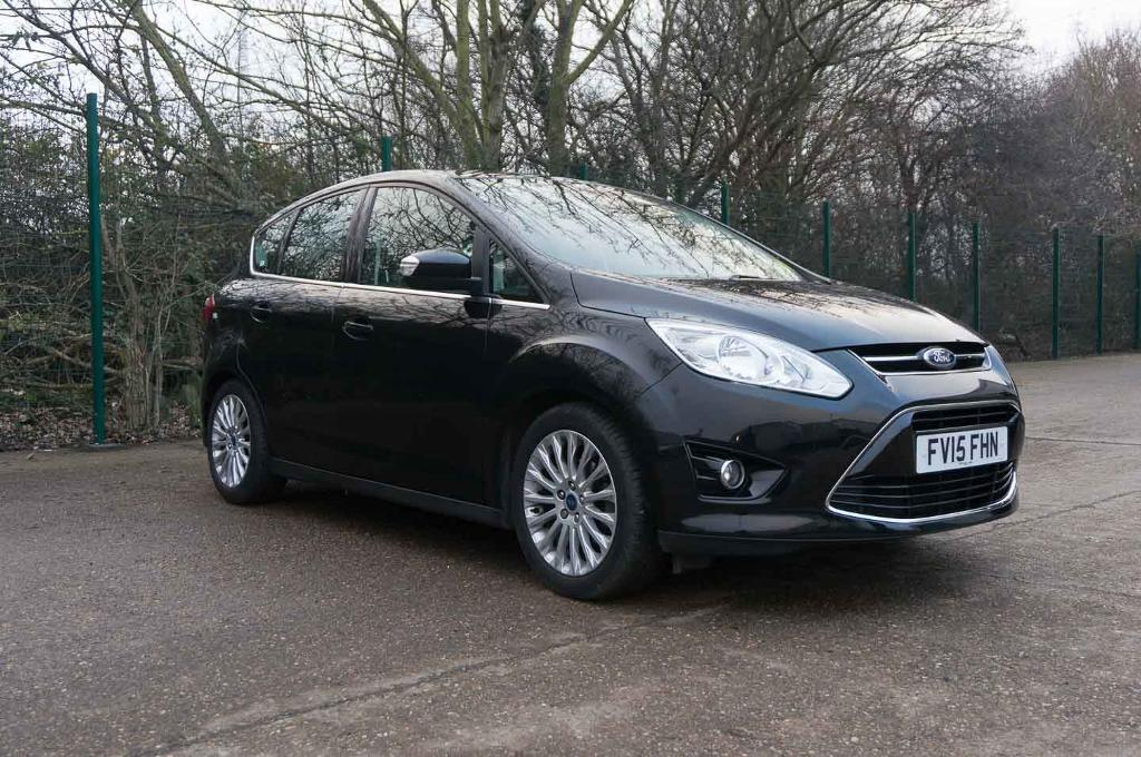 Ford C Max Titanium Tdci Panther Black 2015 In