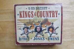 "FS: Legacy Inc. ""Kings of Country"" 4 CD Box Set London Ontario image 1"