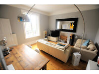 A bright and spacious double bedroom flat on the first floor of a pretty Victorian building.