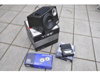 """Active sub with Alpine 6.5"""" speakers and 250w amp plus cable set"""