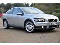 2006 Volvo C30 2.0 D SE Lux 2dr+DIESEL+FULL SERVICE HISTORY+FREE WARRANTY+MEMORY SEATS+6 SPEEDS
