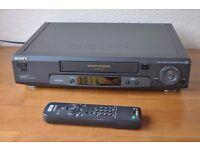 Sony VHS VCR - SLV-SE70 - Nicam with original remote control