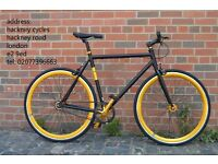 Aluminium Brand new single speed fixed gear fixie bike/ road bike/ bicycles + 1year warranty ee