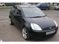 Ford Fiesta LX 16v 3dr (black) 2004