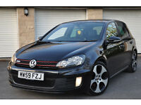 vw golf gti mk6 FSH Leathers ADAPTIVE CHASIS not GTD r32 audi s3 a3 s line black edition mazda3 mps