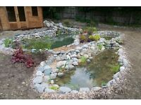 Pond, Landscaping, and Garden Design job opportunity