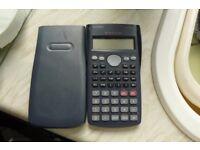 Casio scientific calculator model S.V.R.A.M.