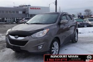 2012 Hyundai Tucson Limited AWD at  Leather Pan Roof Heated Seat