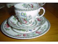 Johnston Indian Tree tea set