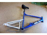 """Apollo Outrider MTB 19"""" 18 Speed Monoshock Bike Frame & Seat only"""