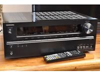Onkyo TX-NR509 Four HDMI® inputs, 5.1-Channel Network A/V Receiver - Surround Sound Amplifier