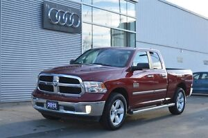 2013 Ram 1500 SLT 4x4 Low Mileage, Backup Camera, Touchscreen