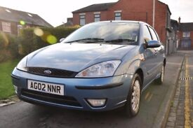 FORD FOCUS 1.6 I 16V GHIA 4DR PETROL ( PART SERVICE HISTORY)