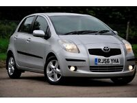 2006 Toyota Yaris 1.3 T Spirit Multimode 5dr+FREE WARRANTY+FULL TOYOTA SERVICE HISTORY+11 MONTHS MOT
