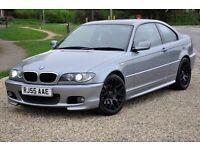 """2005 BMW 3 Series 2.0 320Cd Sport 2dr+COUPE+DIESEL+18"""" WHEELS+FREE WARRANTY+2 KEYS+LONG MOT+FSH"""