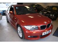 BMW 1 Series (red) 2010