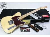 Fender USA Limited Edition 60th Anniversary Telebration Series Lamboo Telecaster Natural Gloss