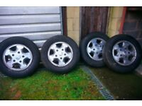 ford transit alloy wheels.