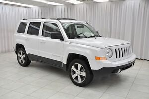 2016 Jeep Patriot HIGH ALTITUDE 4x4 SUV w/ BLUETOOTH, HTD LEATHE