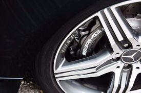 2016 Mercedes S63 Amg Calipers set Front and Back Silver