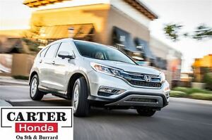 2015 Honda CR-V Touring + NAVI + BACKUP SENSORS + HITCH + CERTIF