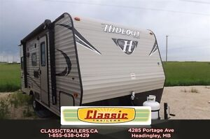 2017 Hideout 177LHS This is a great couples trailer with a front