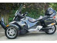 2010 CAN-AM SPYDER RT SEMI AUTO BLACK 4700 MILES