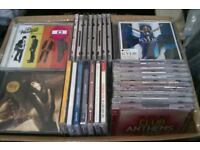 job lot large box full approx 120 cd albums see photo pop chart oldies etc