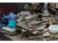 Concrete rubble/slabs/blocks free for collection