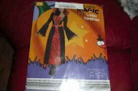 BRAND NEW SIZE 10/12 FANCY DRESS OUTFIT LADIES VAMPIRESS