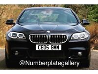 CEOS BMW Number Plate