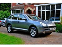 2005 PORSCHE CAYENNE TIPTRONIC S 3.2 V6 JUST 82,000 MILES 2 OWNERS SUPERB CAR