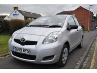 TOYOTA YARIS 1.0 VVT I T2 5DR (1 OWNER FROM NEW)