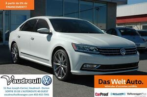 2016 Volkswagen Passat 3.6L Execline + 20PO + LED + PARK ASSIST