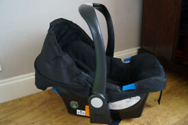 Mothercare Car Seat and Mamas&Papas Babyplay Coconut Band Travel Arch Toy