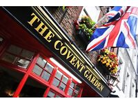 Bar Staff - Full/Part Time - Busy West End Pub