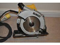 DeWalt Circular Saw 23620 LX 110V . In great working condition !!!