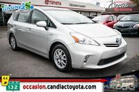 2012 Toyota Prius v GROUPE LUXE * CUIR * NAV * TOIT PANORAMIQUE