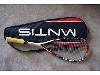 Mantis Power 110 squash racket Like new