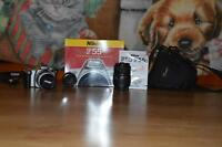 Nikon F55 35mm camera