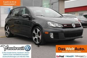 2011 Volkswagen Golf GTI + TURBO + DSG + 200HP + JAMAIS ACCIDENT