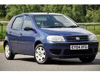 2004 Fiat Punto 1.2 8v Dynamic 5 DOORS+12 MONTHS MOT+1 OWNER FROM NEW